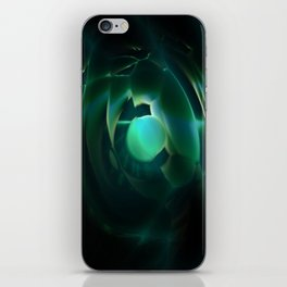 C space iPhone Skin