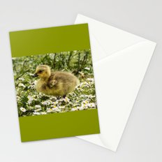 Fluffy Gosling Stationery Cards