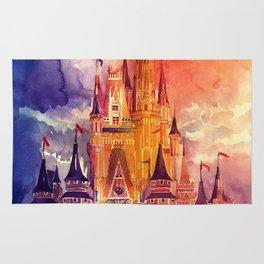Cinderella Castle Rug