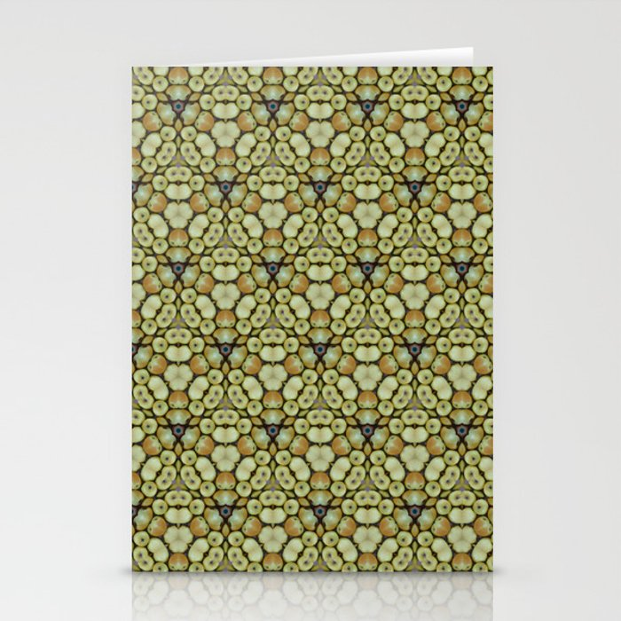 Yellow Apples Pattern Stationery Cards