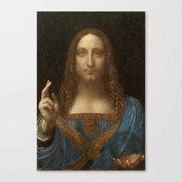 Price Slashed on 450M Leonardo da Vinci Salvator Mundi Canvas Print