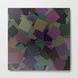 Squares from Arlo Metal Print