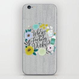 Pretty Sweary 2.0: Where's my Fucking Vodka? iPhone Skin