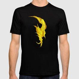 Abstract island T-shirt