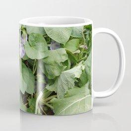 MORNING GLORY wildflower close-up Coffee Mug