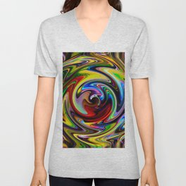Abstract - Perfection 100 Unisex V-Neck