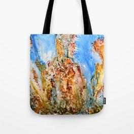 Rhaphsody modern  abstract art Tote Bag