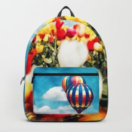 Hot Air In Spring Backpack