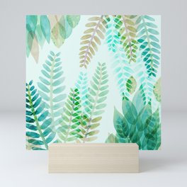 Dappled Palms I Mini Art Print