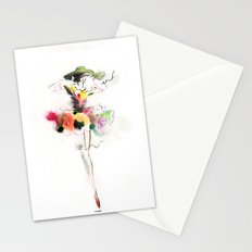 woman fashion Stationery Cards