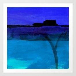 Mesa No. 100C by Kathy Morton Stanion Art Print