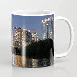 Austin, Texas skyline - city lights Coffee Mug