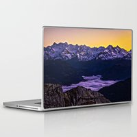 giants Laptop & iPad Skins featuring Swiss Giants by Czech the Count