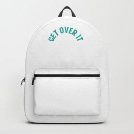 Get Over It Equestrian For Horseback Rider Lover Backpack
