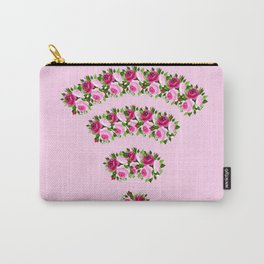 wifi flower Carry-All Pouch