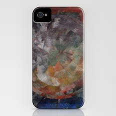 Circle Distortions #1 Slim Case iPhone (4, 4s)