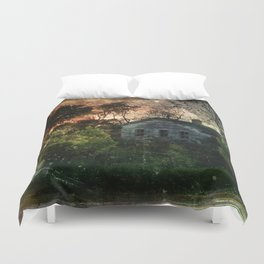 The Ghost House Duvet Cover