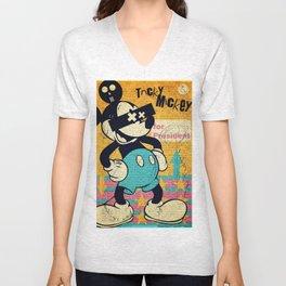 Tricky Mickey Unisex V-Neck