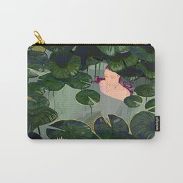 Mermaid in a pond Carry-All Pouch