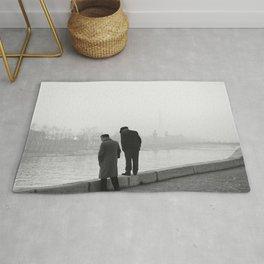 Twee mannen op de kade van de Seine in Parijs, Bestanddeelnr 254 0218 Rug