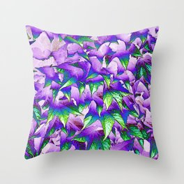 Leaves... Throw Pillow