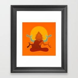 Zen Luke Framed Art Print