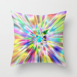Zoompainting 4 Throw Pillow