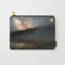 Milky Way Over Yellowstone Carry-All Pouch