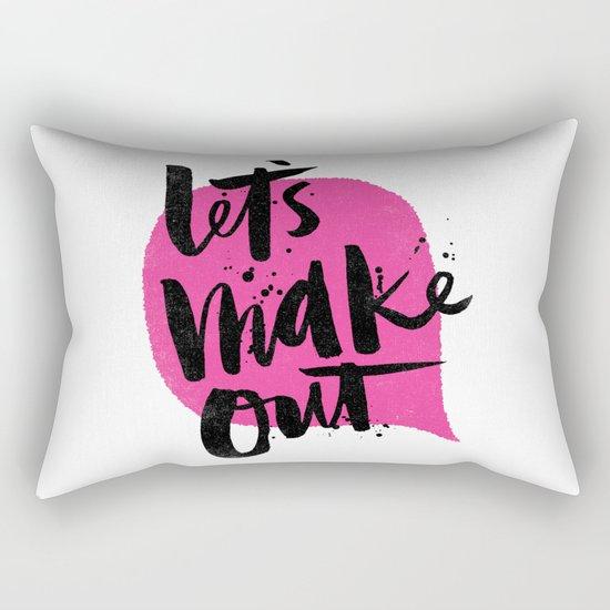 Let's make out Rectangular Pillow