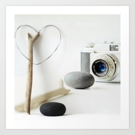 Photo Love Art Print