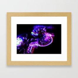 CD lighting Framed Art Print