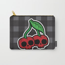 Skull Cherries Carry-All Pouch