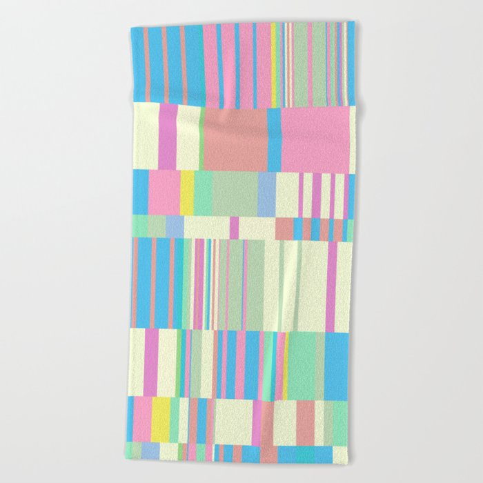Chopin Prelude Miami Beach Colours Towel