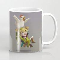zelda Mugs featuring Zelda by Dave Armstrong