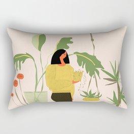 Migrating a Plant Rectangular Pillow