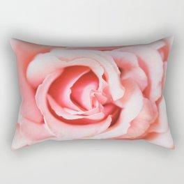 Blooming Rose Rectangular Pillow