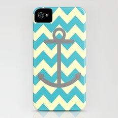Chevron Anchor iPhone (4, 4s) Slim Case