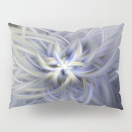 Forget-me-nots Twirled Pillow Sham