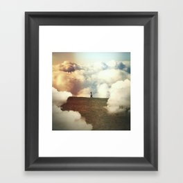 The Ups and the Sundowns Framed Art Print