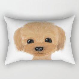 poodle hair cut 2 Rectangular Pillow