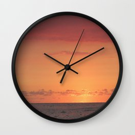 Rising in the East Wall Clock