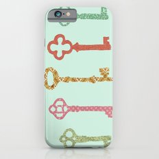 Skeleton Keys iPhone 6s Slim Case