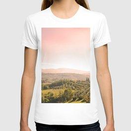 Beautiful tuscan landscape T-shirt