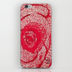 Roses are red... iPhone & iPod Skin