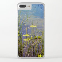Between the Reeds Clear iPhone Case