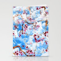 sakura Stationery Cards featuring SAKURA by sametsevincer