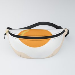 Egg orange Fanny Pack