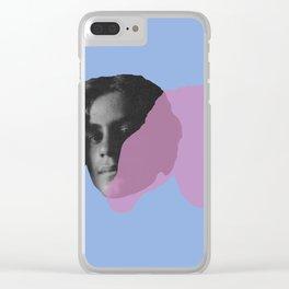Kahlil Gibran Clear iPhone Case