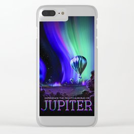 Auroras of Jupiter: A Flight of Fancy Clear iPhone Case