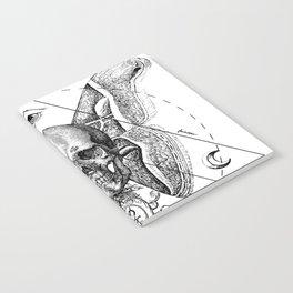 Engraving - Moth Notebook
